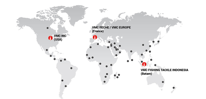 VMC World Map